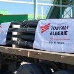 Le groupe Tosyali exporte 18 000 tonnes de rond à béton vers le Canada