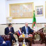 Réunion de la commission technico-militaire algéro-russe à  Alger